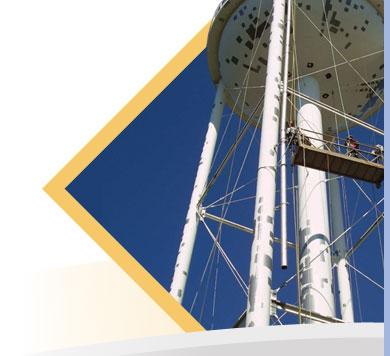 Landmark water towers in Canada